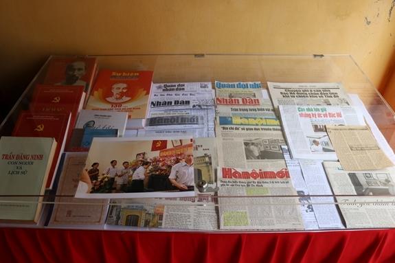 Nơi lưu giữ những kỉ vật của Chủ tịch Hồ Chí Minh