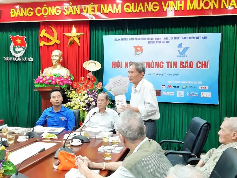 Ra mắt cuốn sách về cựu học sinh kháng chiến Hà Nội