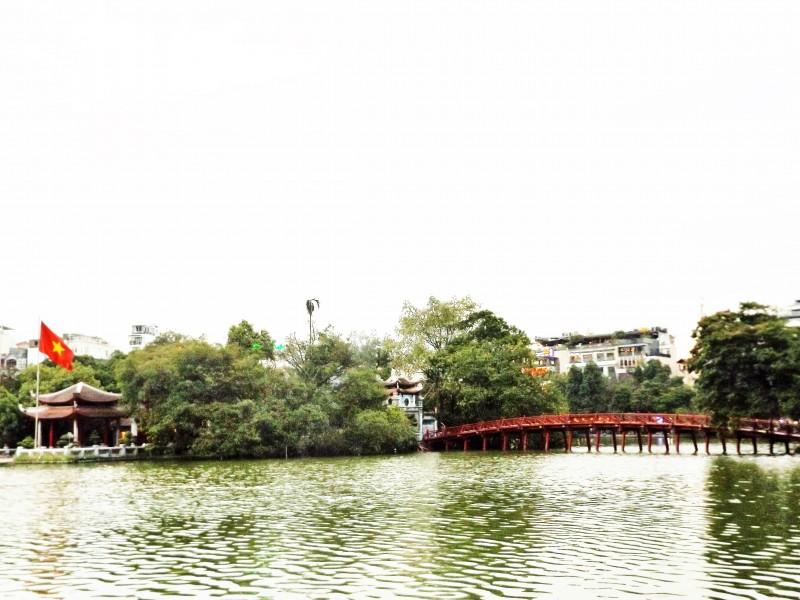 Cầu Thê Húc – Chứa đựng nét đẹp văn hóa của người Hà Thành