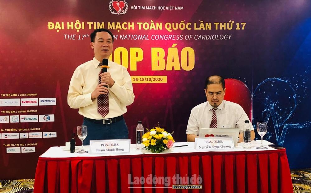 Đại hội Tim mạch toàn quốc lần thứ 17 được tổ chức trực tuyến