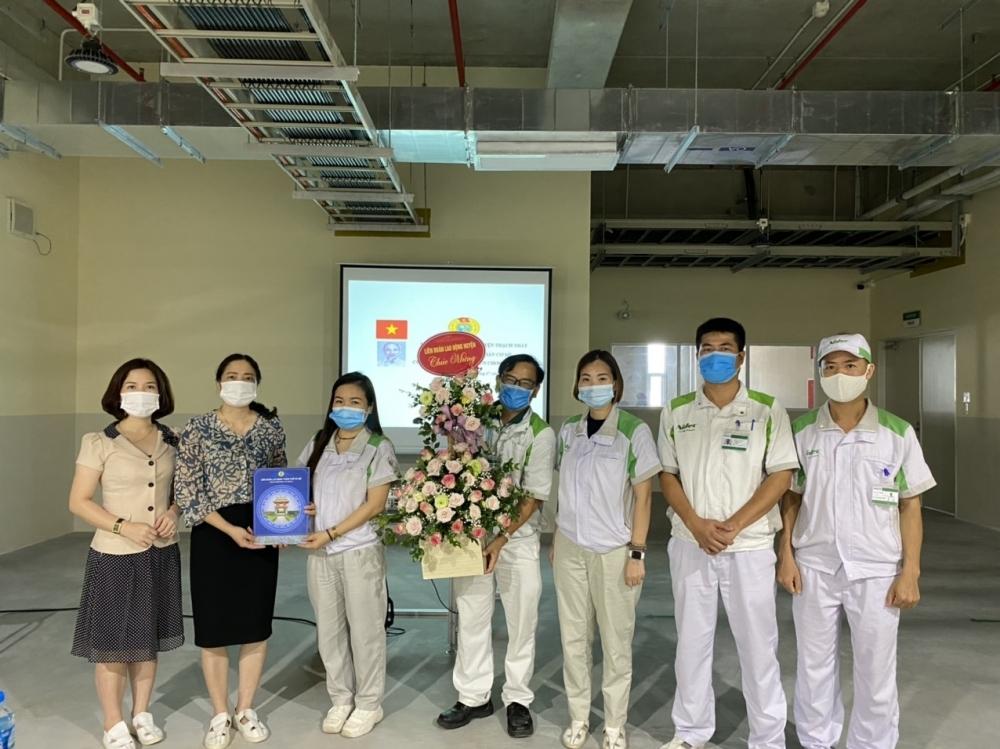 LĐLĐ huyện Thạch Thất: Thành lập thêm 11 công đoàn cơ sở trong 9 tháng đầu năm