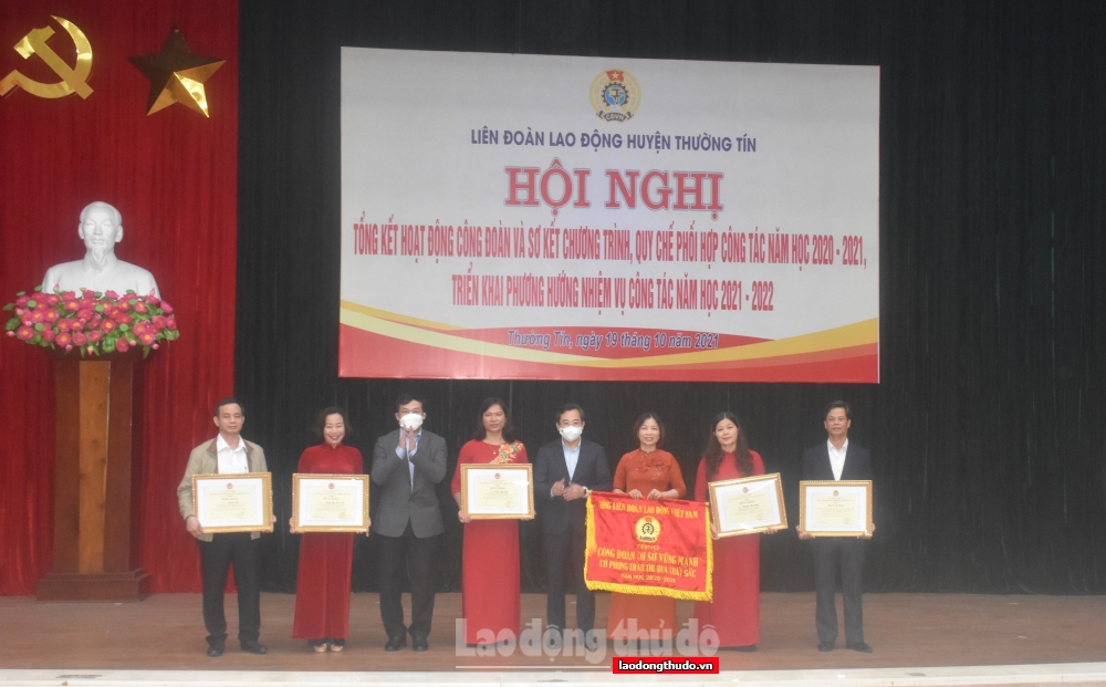 LĐLĐ huyện Thường Tín nâng cao chất lượng hoạt động và công tác phối hợp