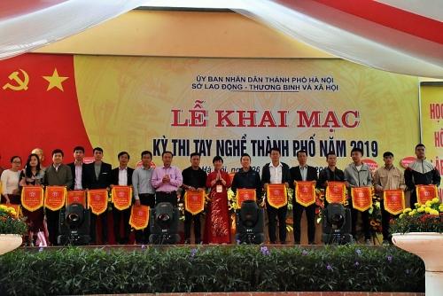 Khai mạc Kỳ thi tay nghề thành phố Hà Nội năm 2019