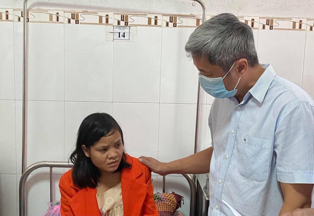 Không để dịch bệnh xảy ra, tăng cường dinh dưỡng cho người dân khu vực có thiên tai