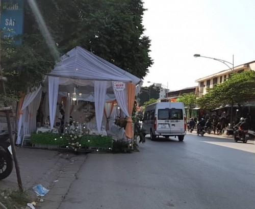 Dựng rạp đám cưới gây tai nạn có thể bị truy cứu trách nhiệm hình sự