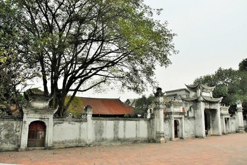 Khám phá ngôi đền độc nhất xây trên nền thiết triều cũ thành Cổ Loa