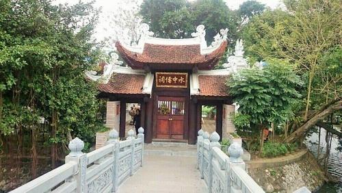 Độc đáo ngôi đền thờ