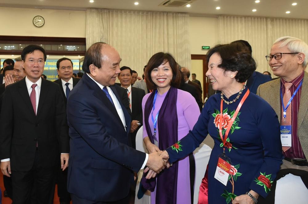 Thủ tướng Nguyễn Xuân Phúc dự Đại hội Liên hiệp các Hội Khoa học và Kỹ thuật Việt Nam lần thứ VIII