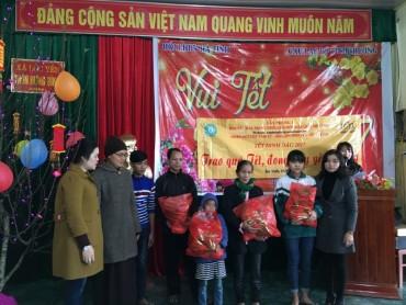 Tết ấm tình thương đến với đồng bào nghèo Hà Tĩnh