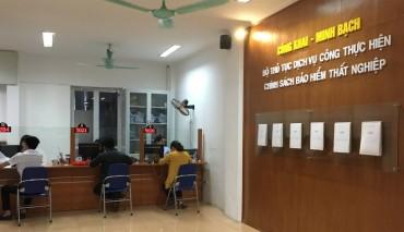 Hà Nội: Gần 49 nghìn người hưởng trợ cấp thất nghiệp