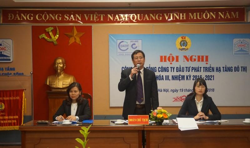 Công đoàn Tổng Công ty UDIC tổ chức thành công Hội nghị khóa III