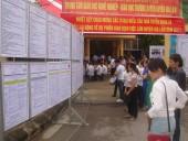 Hàng ngàn lao động tham gia phiên giao dịch việc làm huyện Gia Lâm