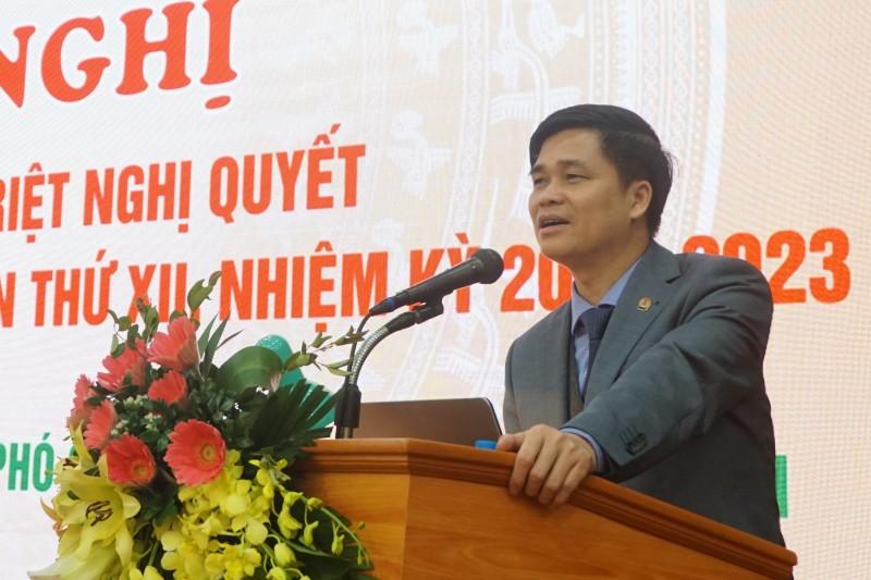 Quán triệt Nghị quyết Đại hội XII Công đoàn Việt Nam tới cán bộ chủ chốt