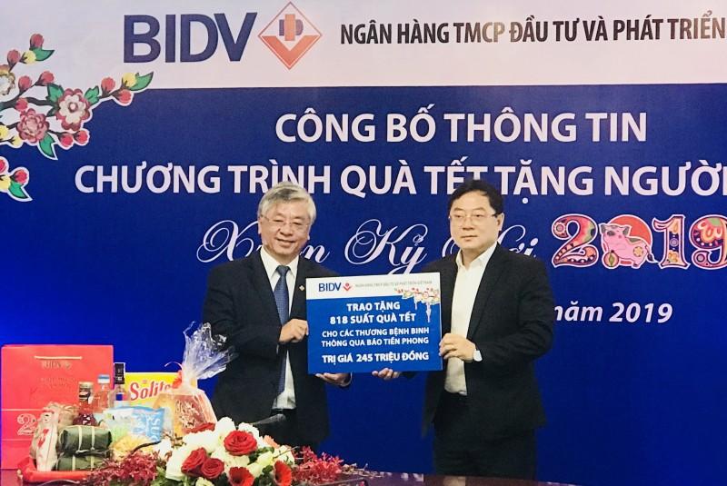 Cán bộ, công nhân viên BIDV dành 20 tỷ đồng tặng quà Tết người nghèo