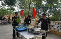 Bộ Tư lệnh Vùng 1 Hải quân thăm, chúc Tết quân dân huyện đảo Bạch Long Vỹ