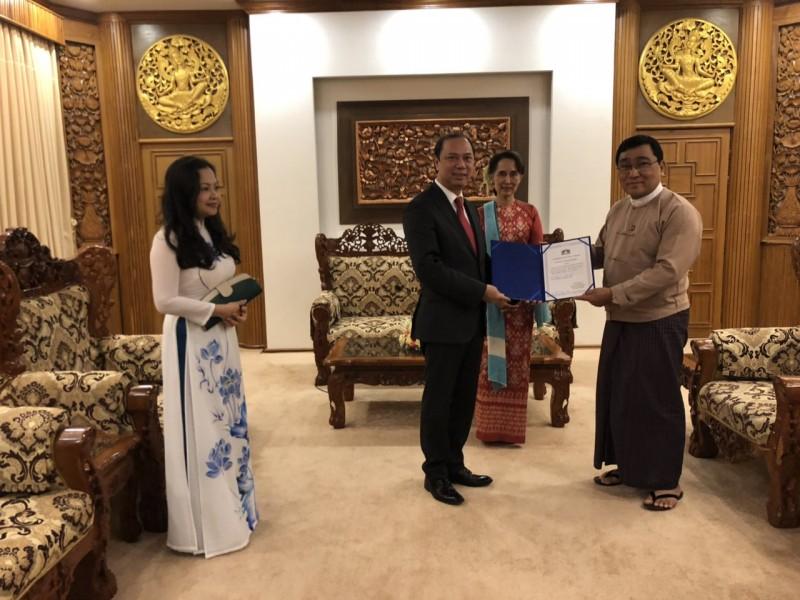 Quyết tâm thúc đẩy quan hệ Đối tác hợp tác toàn diện Việt Nam - Myanmar