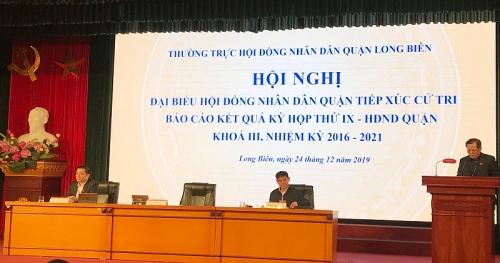 Hội đồng nhân dân quận Long Biên: Thông qua 13 Nghị quyết quan trọng