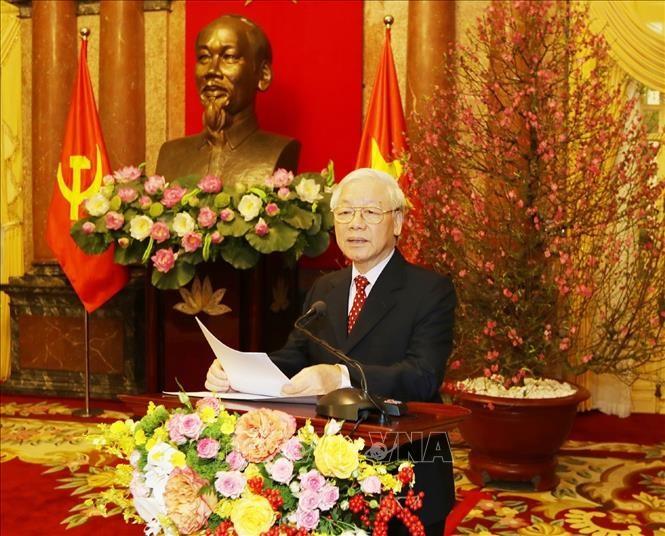 Thông điệp đầu năm mới của Tổng Bí thư, Chủ tịch nước Nguyễn Phú Trọng