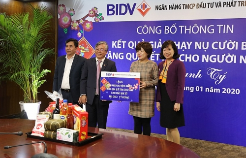 BIDV trao 40.000 suất quà Tết trị giá 20 tỷ đồng tới đồng bào nghèo cả nước