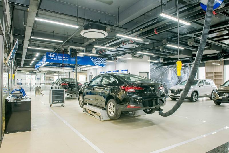 TC MOTOR khánh thành Trung tâm trải nghiệm sản phẩm và dịch vụ Hyundai