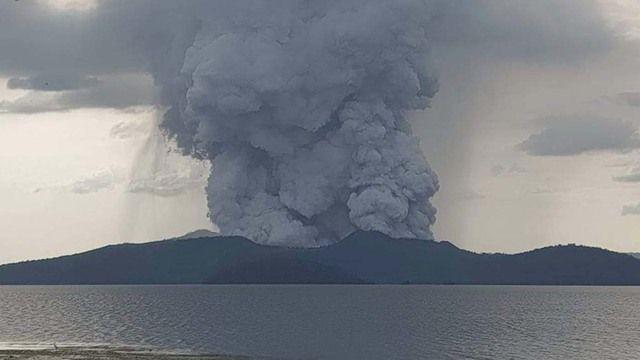 Khuyến cáo công dân hạn chế đến khu vực bị ảnh hưởng bởi núi lửa Taal tại Philippines