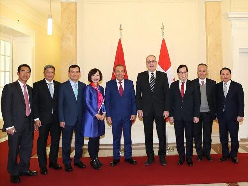 Quan hệ hợp tác kinh tế giữa Việt Nam - Thụy Sỹ đang có nhiều tiềm năng lớn