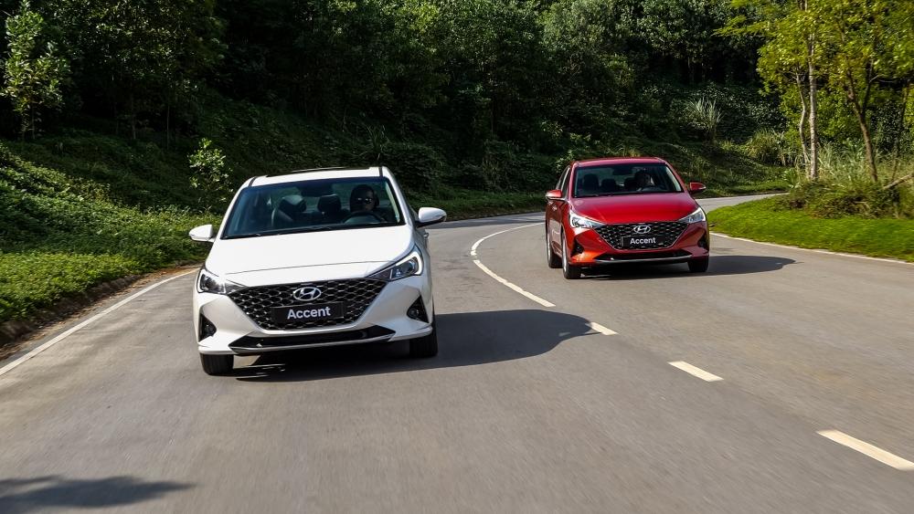 Accent là mẫu xe Hyundai bán chạy nhất trong năm 2020