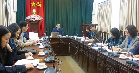 Sinh hoạt chuyên đề về các kỳ Đại hội Đảng và các văn kiện trình Đại hội XIII của Đảng