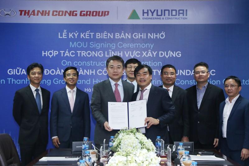 """Tập đoàn Thành Công và Hyundai E&C """"bắt tay"""" trong lĩnh vực xây dựng"""