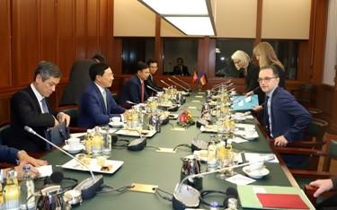 Đức sẽ hợp tác với Việt Nam đào tạo nguồn nhân lực có tay nghề