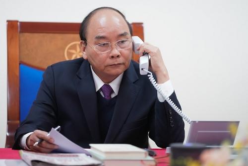 Thủ tướng Nguyễn Xuân Phúc điện đàm với Tổng thống Indonesia cùng đối phó virus Corona