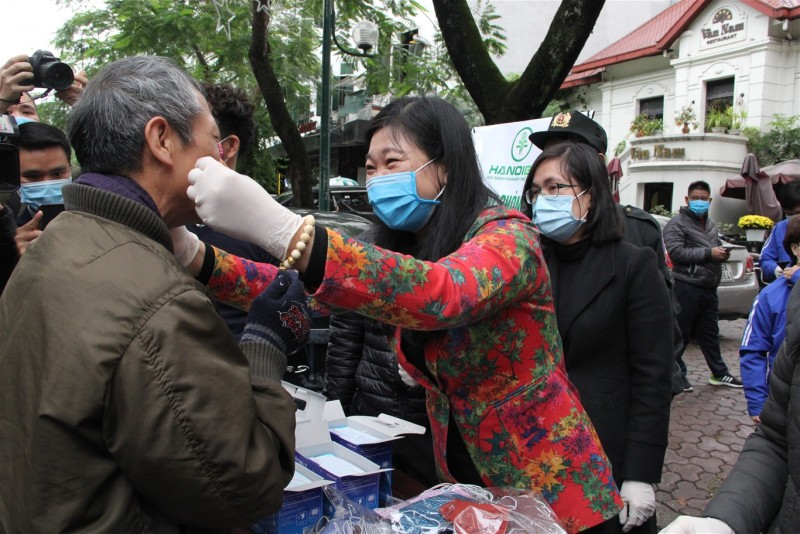 Mặt trận Tổ quốc thành phố Hà Nội chung tay phòng chống dịch bệnh do virus Corona