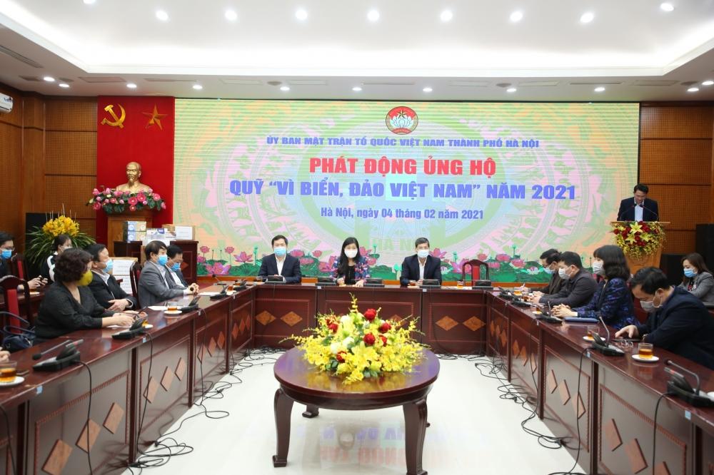 """Kêu gọi các đơn vị, doanh nghiệp, Nhân dân Thủ đô ủng hộ Quỹ """"Vì biển, đảo Việt Nam"""" năm 2021"""