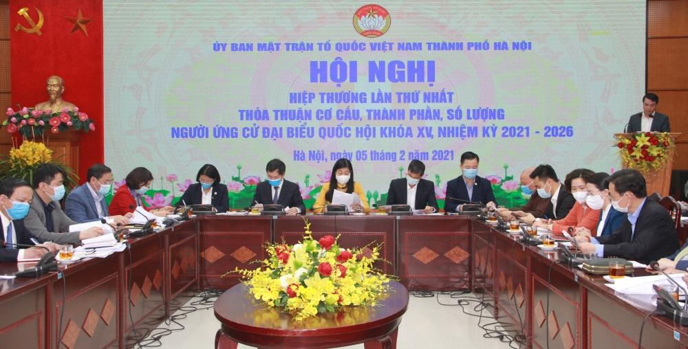 Số lượng đại biểu Quốc hội của Hà Nội khóa XV được phân bổ là 29 đại biểu