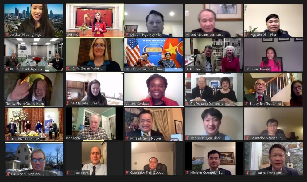 Ấn tượng chương trình Xuân Tân Sửu dành cho cộng đồng người Việt cùng bạn bè Mỹ và quốc tế