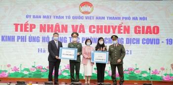 Hà Nội kêu gọi các đơn vị, cá nhân tiếp tục ủng hộ công tác phòng, chống dịch Covid-19