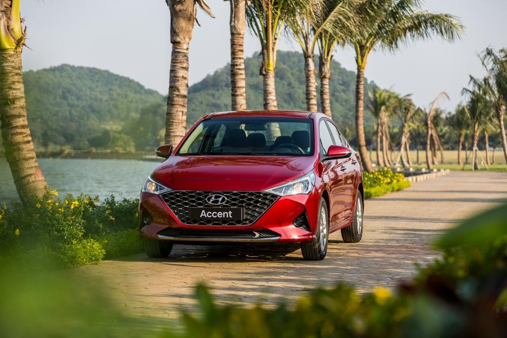 Hyundai Accent tiếp tục là mẫu xe Hyundai bán chạy nhất