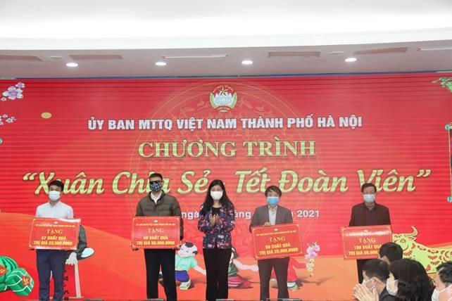 Khoảng 700.000 lượt người nghèo, có hoàn cảnh khó khăn đã được các cấp Mặt trận hỗ trợ quà Tết