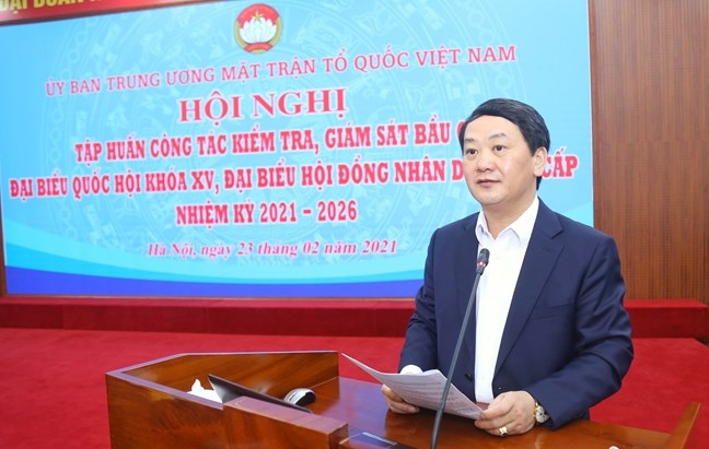 Trong công tác bầu cử, Mặt trận Tổ quốc Việt Nam các cấp có 5 quyền và trách nhiệm quan trọng