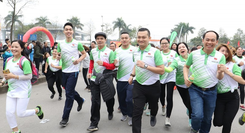 Herbalife đồng hành đường chạy Fun Run, khởi động ASIAD 2018