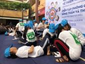 Học sinh TP Hồ Chí Minh học cách ứng phó với thiên tai