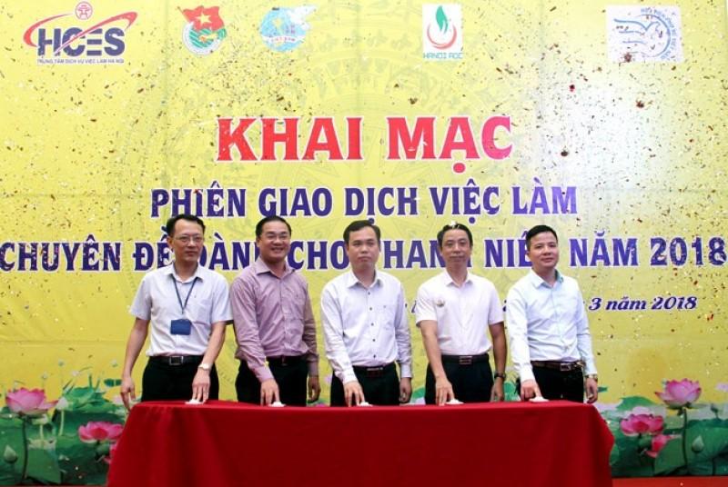 Gần 1.500 chỉ tiêu tại Phiên giao dịch việc làm chuyên đề thanh niên