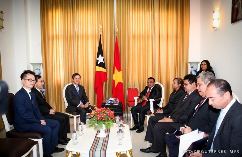 Thúc đẩy quan hệ hữu nghị, hợp tác giữa Timor Leste và Việt Nam