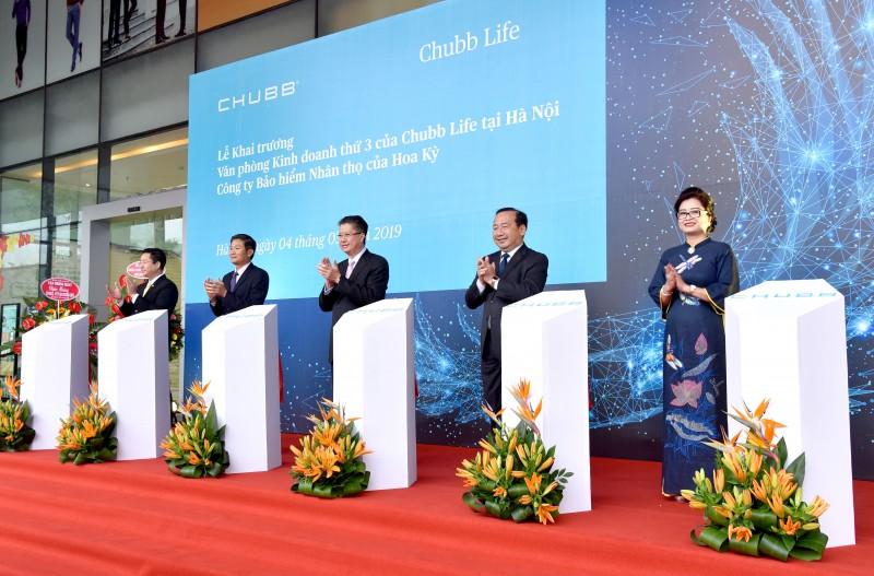 Chubb Life Việt Nam khai trương văn phòng kinh doanh thứ ba tại Hà Nội