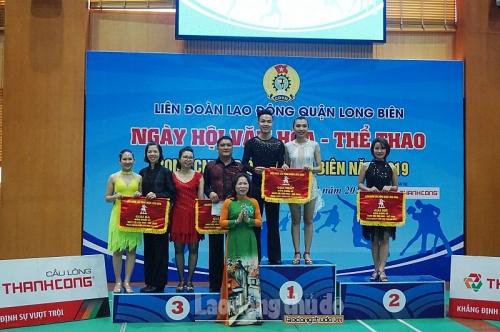 """Quận Long Biên: 1.400 đoàn viên công đoàn tham dự Ngày hội """"Văn hóa - Thể thao"""""""