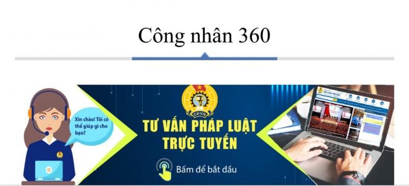 Tổng Liên đoàn khai trương Hệ thống tư vấn pháp luật trực tuyến