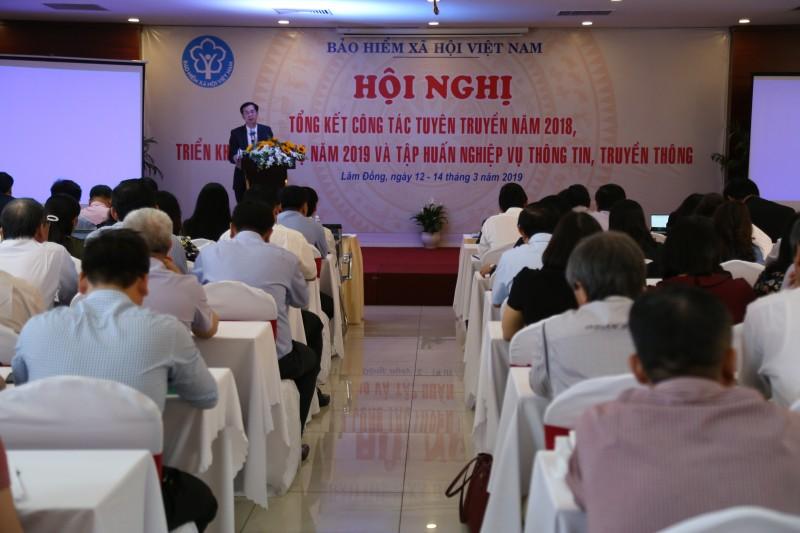 BHXH Việt Nam tập huấn nghiệp vụ thông tin, truyền thông cho cán bộ