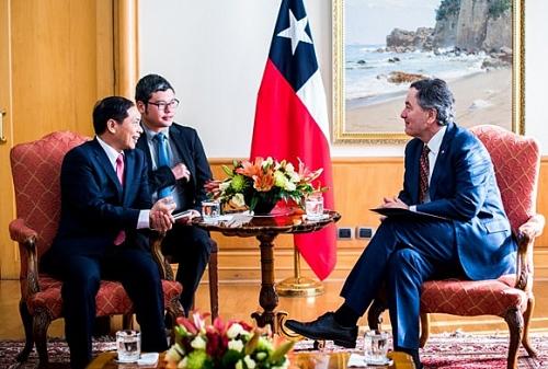 Quan hệ Việt Nam-Chi-lê: Tiếp tục phát triển tích cực trên tất cả các lĩnh vực
