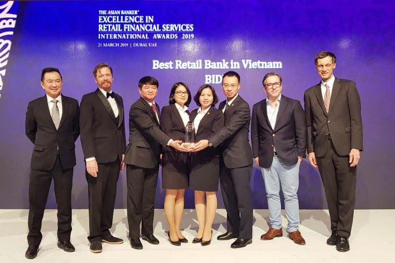 BIDV: Năm thứ 5 được vinh danh Ngân hàng Bán lẻ tốt nhất Việt Nam