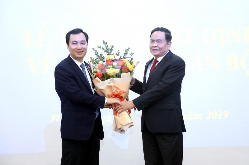 Ông Vũ Văn Tiến giữ chức Trưởng Ban Tuyên giáo Ủy ban Trung ương MTTQ Việt Nam